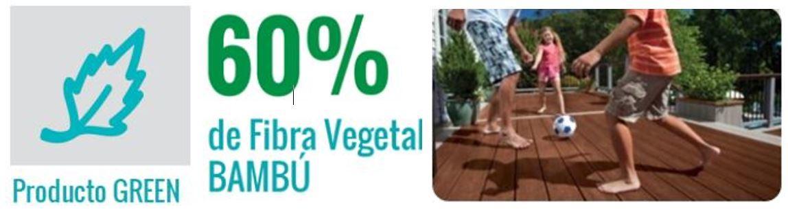 PISO DECK TABLETA DE ORIGEN NATURAL PRODUCTO GREEN