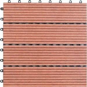 TABLETA PISO DECK WOOD PLASTIC COMPOSITE MADERA COMPUESTA ACENTO SUMINISTROS