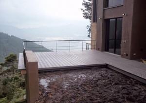 Piso Deck listón balcón o tarima WPC Acento Suministros
