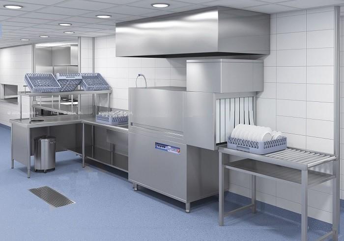 Pisos para cocinas industriales, cuartos de procesos, restaurantes