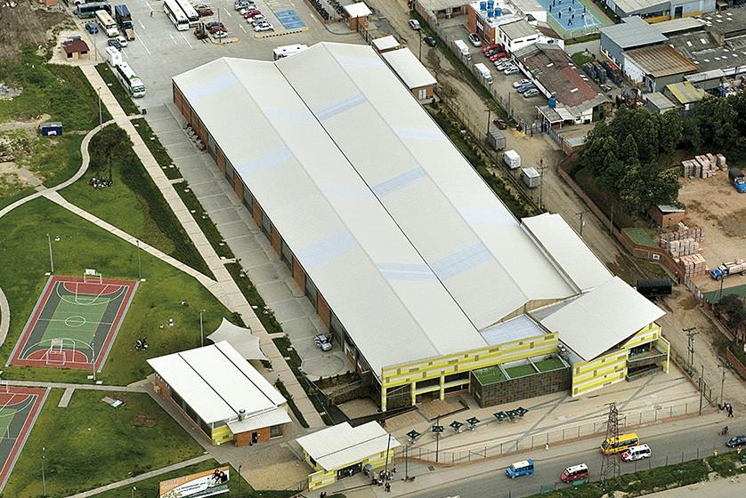 Teja PanelMET centro logístico