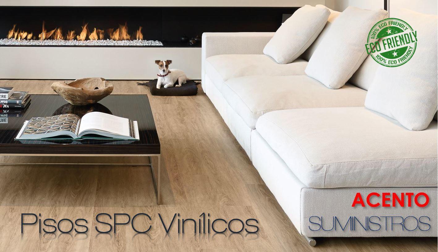 Pisos SPC Vinilicos ecofriendly 100% Acento Suministros