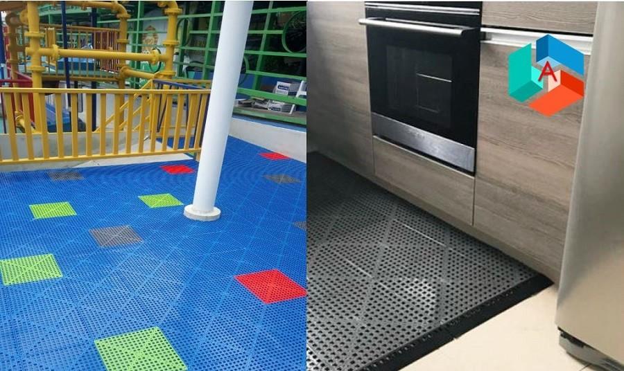 Easydeck Aqua piso para cocinas y parques infantiles Acento Suministros