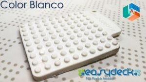 Easydeck color Blanco Acento Suministros
