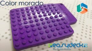 Easydeck color Morado Acento Suministros