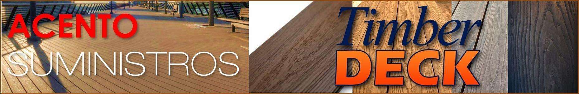 Deck Liston WPC veta madera Acento Suministros